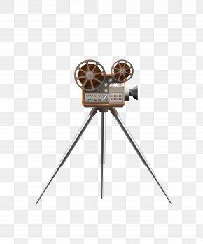 Vector Dark Triangle Bracket Movie Projector - Movie Projector Film PNG