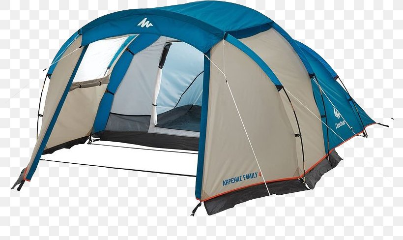 Quechua Arpenaz Family 4 Tent Camping Decathlon Group Png