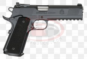 Handgun - Springfield Armory M1A HS2000 M1911 Pistol .45 ACP PNG