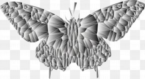 Low Poly - Butterfly Low Poly PNG
