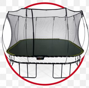 Trampoline - Springfree Trampoline Jumping Trampoline Safety Net Enclosure PNG