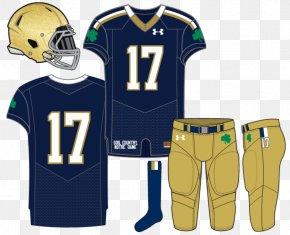 Basketball Uniform - University Of Notre Dame T-shirt Notre Dame Fighting Irish Football Jersey Uniform PNG