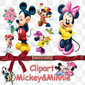 Minnie Mouse - Minnie Mouse Mickey Mouse Daisy Duck Donald Duck Clip Art PNG
