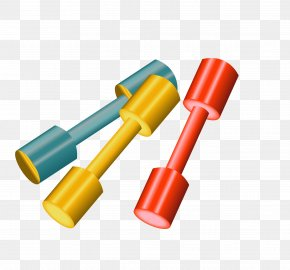 Sports Barbell Vector - Sport PNG