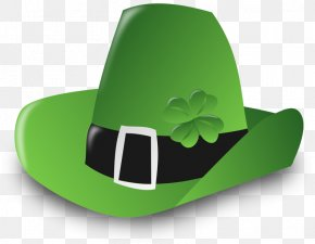 St Patrick's Day Fun - Ireland Shamrock Saint Patrick's Day Leprechaun Clip Art PNG
