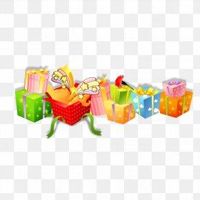 Creative Gift Box - Paper Gift Box PNG
