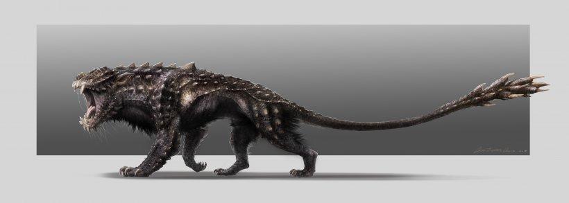Legendary Creature Concept Art Monster Goblin, PNG, 4464x1596px, Legendary Creature, Animal Figure, Art, Carnivoran, Concept Download Free