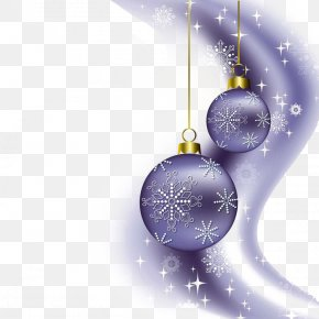 Purple Christmas Light Effect - New Year's Day Christmas Party PNG