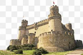 Classical Architecture Monument - Castle Cartoon PNG