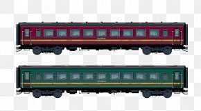 Train - Train Passenger Car Rail Transport Railroad Car PNG