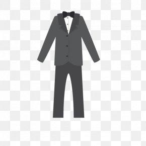 Groom Dress - Tuxedo Bridegroom Wedding Dress Suit PNG
