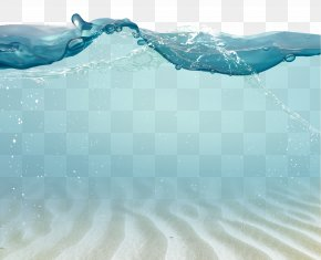 Drops Picture Material Waves Sketch,Seabed Fantasy Watermark - Water Drop PNG