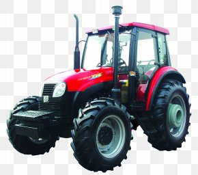 Big Wheel Tractor - Two-wheel Tractor Agriculture Agricultural Machinery Farm PNG