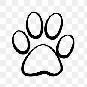 Paw - Dog Tiger Cougar Paw Clip Art PNG