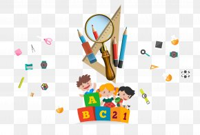 Cartoon School Supplies - Drawing School Dxc4u2014stymas Clip Art PNG