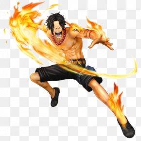 One Piece: Pirate Warriors 3 Portgas D. Ace Monkey D. Luffy Dracule Mihawk PNG