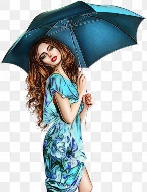 Smile Aqua - Umbrella Blue Turquoise Aqua Smile PNG