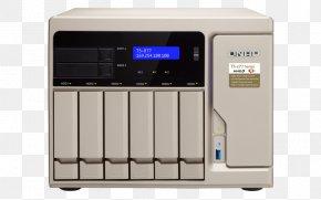 Qnap Systems Inc - QNAP 8-Bay Diskless NAS Network Storage Systems QNAP Systems, Inc. Data Storage Ryzen PNG
