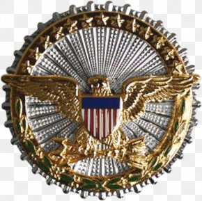 Leaves Badge - United States Department Of Defense Office Of The Secretary Of Defense United States Secretary Of Defense Identification Badges Of The Uniform Services Of The United States PNG