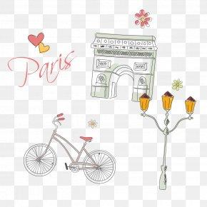 Paris Painted Element - Arc De Triomphe Free Shop Download Computer File PNG