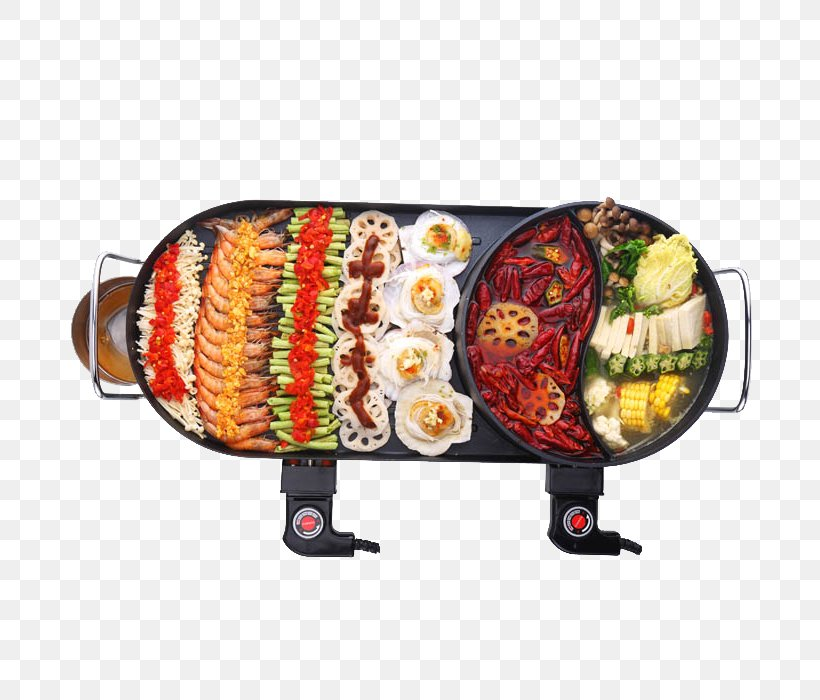 Barbecue Teppanyaki Hot Pot Oven Takoyaki, PNG, 700x700px, Barbecue, Barbecuesmoker, Crock, Cuisine, Dish Download Free