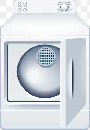 Electrical Appliance Washing Machine Decorative Vector - Clothes Dryer Washing Machine Home Appliance PNG