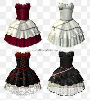 Dress - Dress Evening Gown Formal Wear Suit PNG