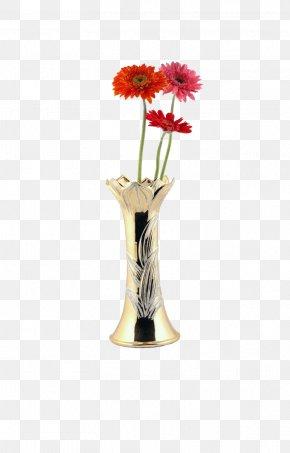 Floral Art - Floral Design Vase Art PNG