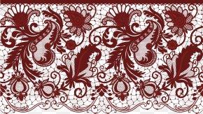 Deco Lace Transparent Image - Wedding Invitation Lace Clip Art PNG