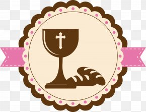 Vector Icon Communion - Eucharist First Communion Icon PNG