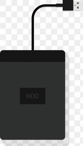 Mobile Hard Disk - Euclidean Vector Hard Disk Drive PNG