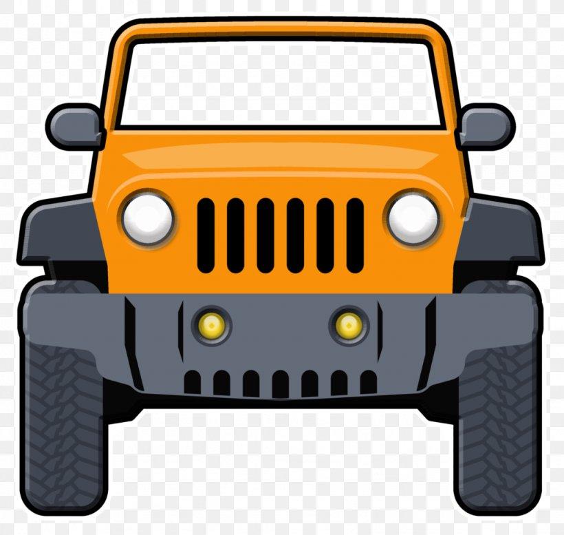 Jeep Wrangler Car Clip Art: Transportation Chrysler, PNG, 1024x971px, Jeep, Automotive Design, Automotive Exterior, Brand, Bumper Download Free