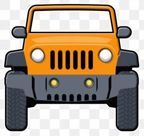 Jeep - Jeep Wrangler Car Clip Art: Transportation Chrysler PNG