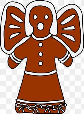 Gingerbread Man - Gingerbread Man Clip Art PNG