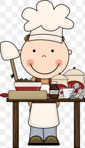 Cooking Pictures For Kids - Cooking Child Baking Clip Art PNG