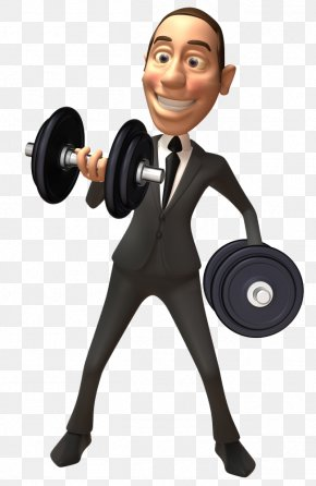 Love Fitness 3D Villain - Olympic Weightlifting Weight Training Dumbbell Fitness Centre PNG
