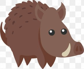 Cartoon Wild Boar - Wild Boar Cartoon Squirrel PNG