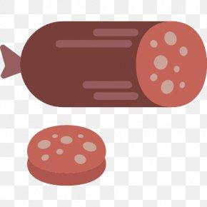 A Ham - Sausage Salami Ham Food Icon PNG
