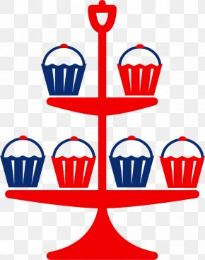 Free Cardinal Clipart - Cupcake Muffin Birthday Cake Clip Art PNG