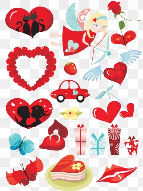 Valentine's Day Sticker - Cdr Computer Icons Valentine's Day Encapsulated PostScript PNG