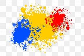 Colour Splash Clipart - Clip Art Image Lhaplus Computer File PNG