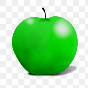 Tree Food - Green Granny Smith Apple Fruit Leaf PNG
