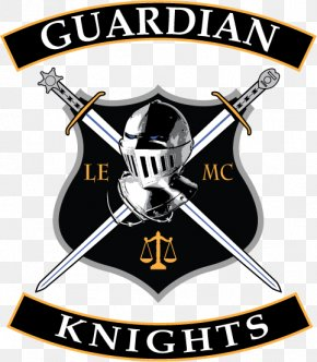 Blue Line Law Enforcement Wallpapers - Knight The Guardian Logo Symbol Shield PNG