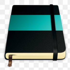 Dark Blue Notebook - Paper Moleskine ICO Notebook Icon PNG
