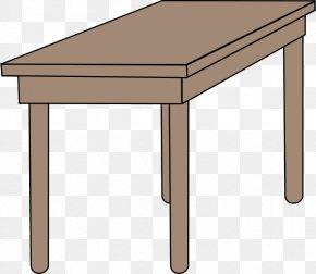 Desk School Cliparts - Table Desk Pencil Drawing Clip Art PNG