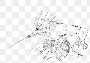 ZARAKI - Line Art Figure Drawing Cartoon Sketch PNG