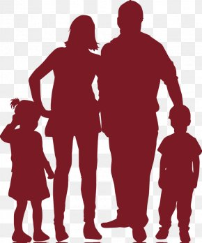Family - Family Silhouette Child Illustration PNG