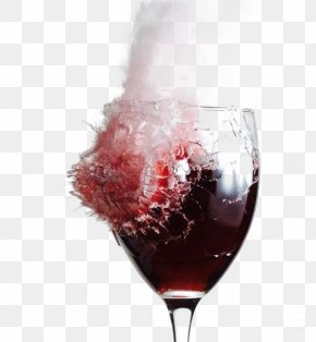 In Kind,glass,Broken Effect - Red Wine Sangria Champagne Rosxc3xa9 PNG