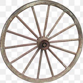 Wheel Rim - Wagon Wheel Cart Spoke PNG