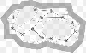 Navigation Mesh Pathfinding A* Search Algorithm Polygon Mesh Graph PNG